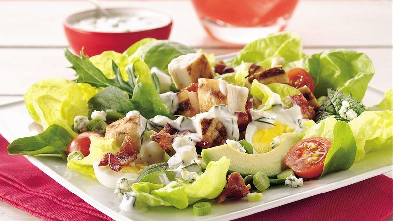 salada de alface a moda rancho