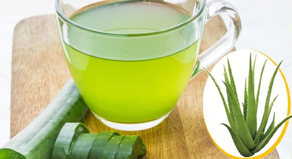 Chá de Aloe Vera