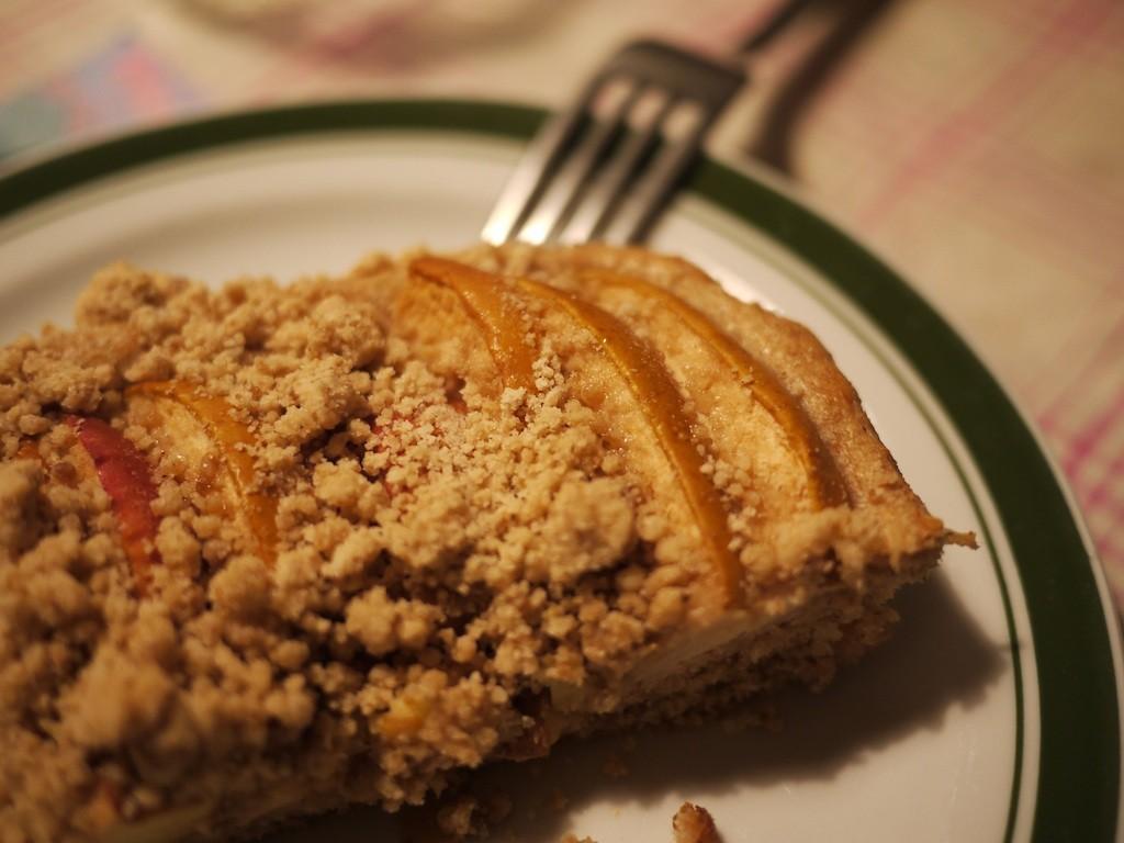 Tortinhas de ruibarbo